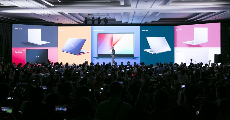 ASUS VivoBook series are stylish and lightweight